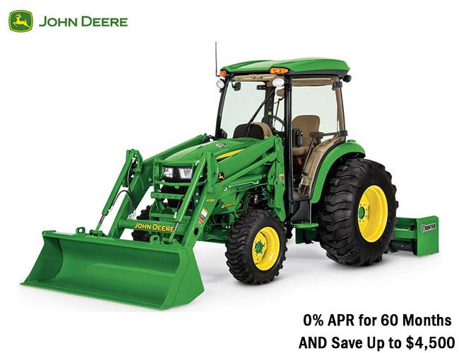John Deere - 0% APR and $4,500 Savings