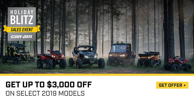 Can-Am - Holiday Blitz Sales Event - All Maverick Offers