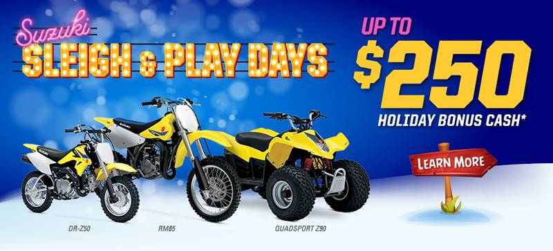 Suzuki Motor of America Inc. Suzuki - Sleigh and Play Days