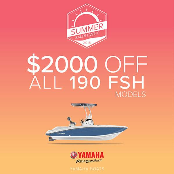 Yamaha Boats - Summer Sales Event - Option 4