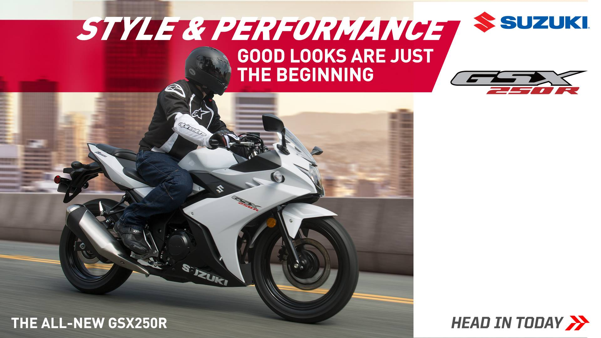 Suzuki Motor of America Inc. Suzuki Fall Suzukifest Sportbike (except GSX-R100 models) and Standard Motorcycle Financing as Low as 1.99% APR for 36 Months or Customer Cash Offer