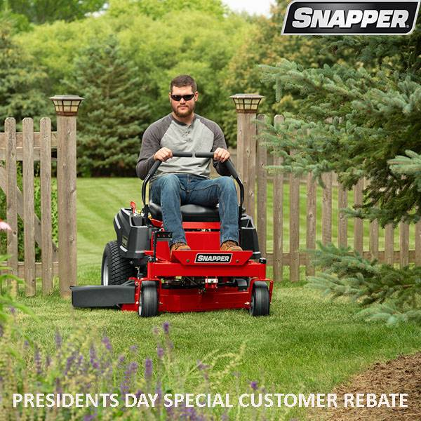 Snapper - Presidents Day Special Customer Rebate