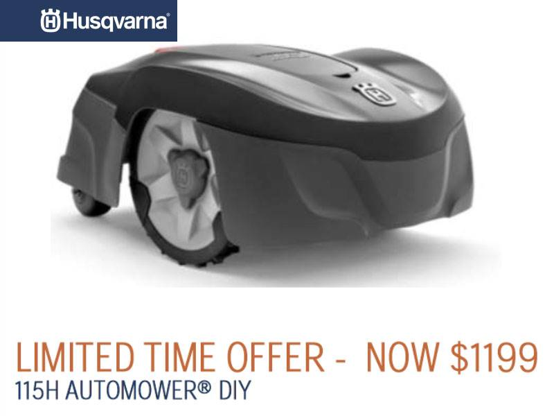 Husqvarna Power Equipment - Limited Time Offer 115H Automower DIY
