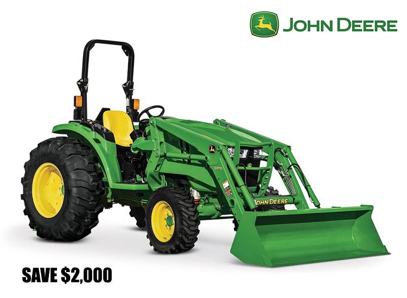 John Deere - Save $2,000 on 4044M and 4052M Compact Tractors