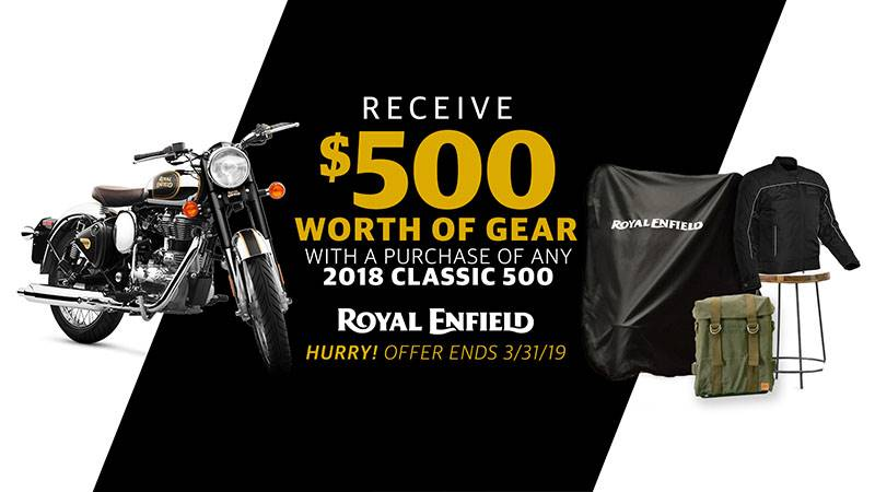 Royal Enfield - $500 Worth of Gear