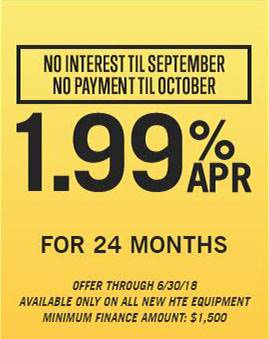 Hustler Turf Equipment 1.99% for 24 Months!