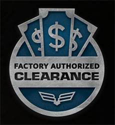 Textron - Factory Authorized Clearance