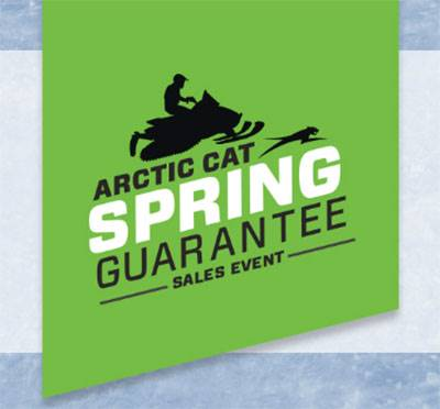 Arctic Cat - Spring Guarantee Sales Event