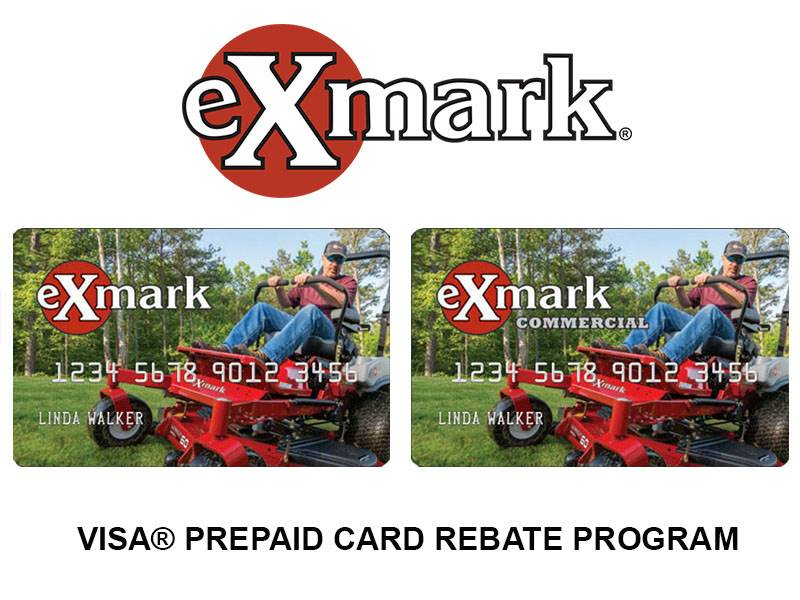 Exmark - Visa Prepaid Card Rebate Program