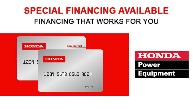 Honda Power Equipment - Honda Power Equipment Credit Card