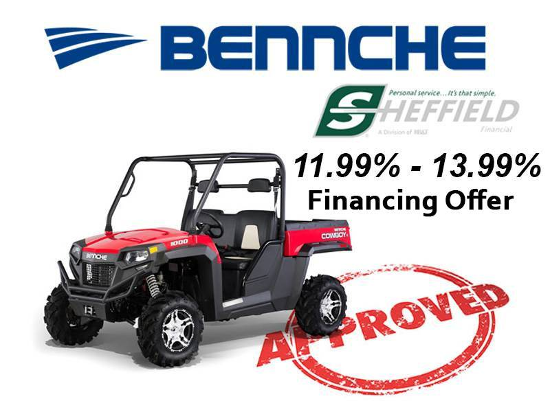 Bennche - Sheffield Financing Offer 11.99% - 13.99%