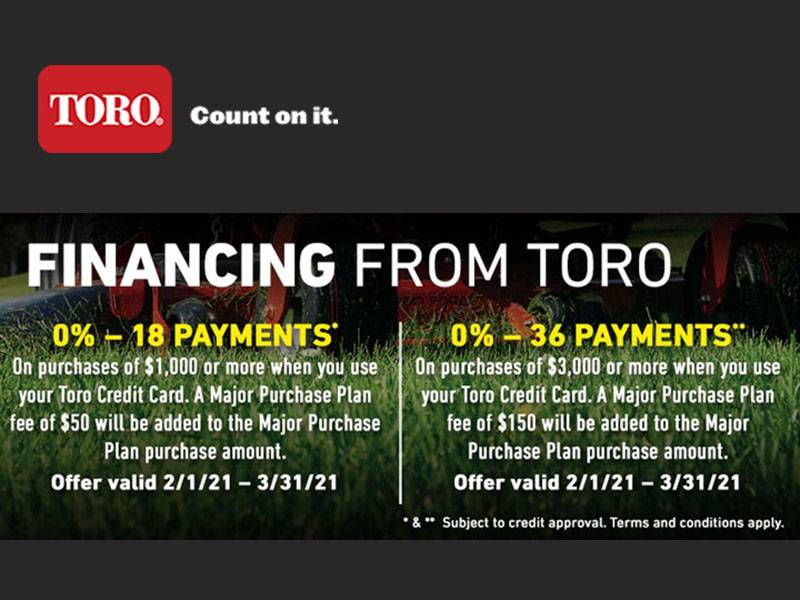Toro - Credit Card Financing From Toro