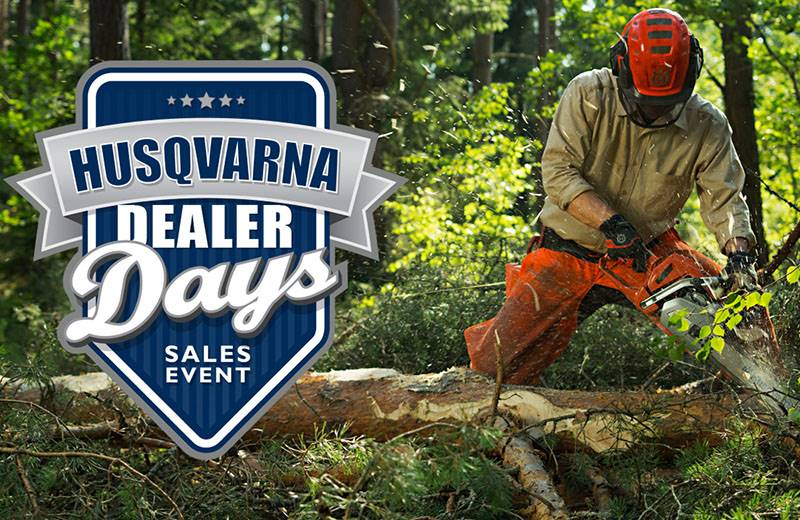 Husqvarna Power Equipment - Chainsaw Trade-In Promotion