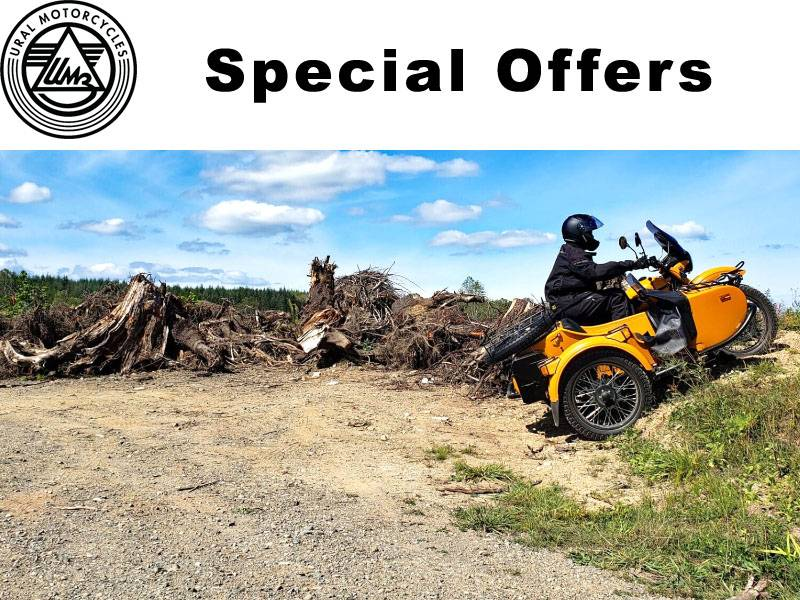 Ural Russian Motorcycles - Special Offers