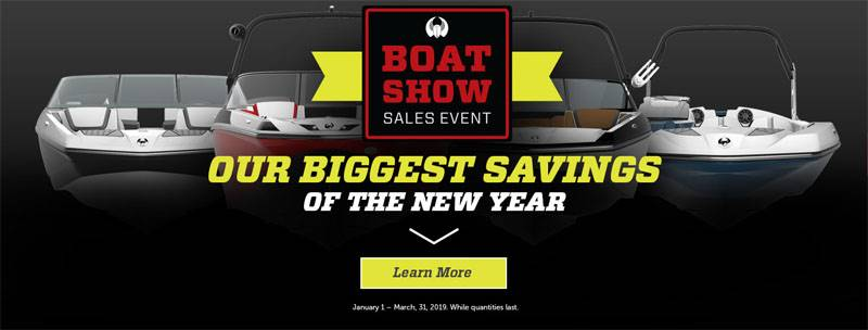 Scarab Jet Boats - Boat Show Sales Event