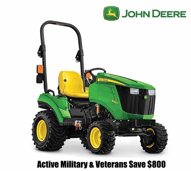 John Deere - Active Military & Veterans Save $800