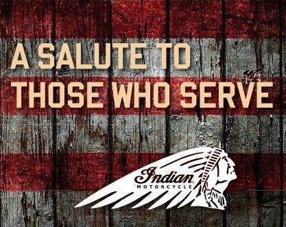 Indian Honoring Heroes Midsize Offer