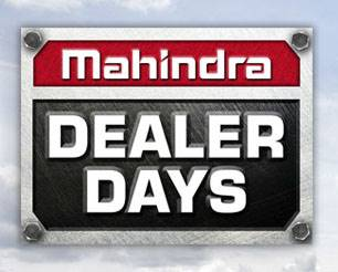 Mahindra - 2018 Dealer Days Sales Event