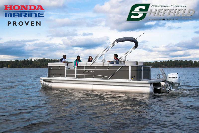 Honda Marine - Qwest Angler / Qwest Pontoon and Warrior with Honda Engine Financing Programs
