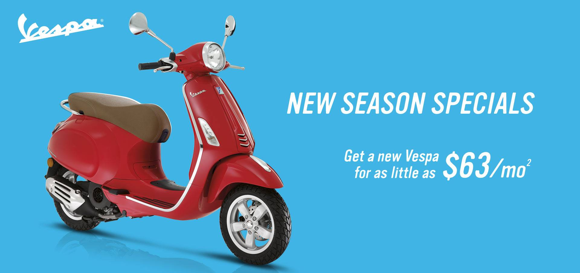 Vespa - New Season Specials