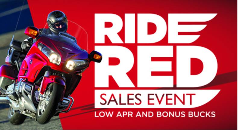 Honda - Get up to $2500 in Bonus Bucks on select Touring Motorcycles