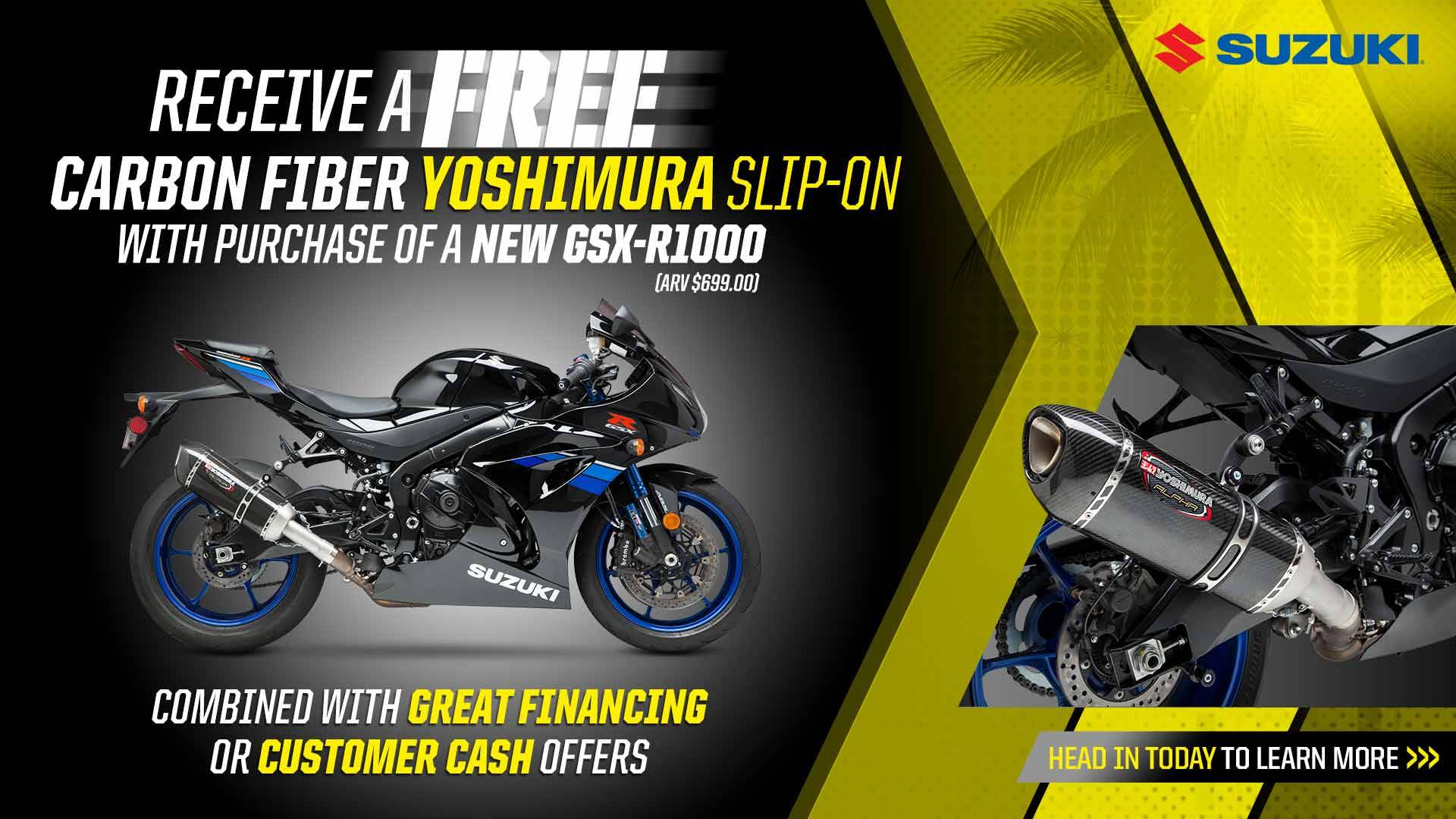 Suzuki - Summer Suzuki Fest for Sportbike and Standard