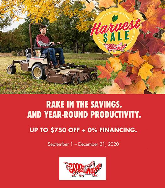 Grasshopper - Harvest Sale