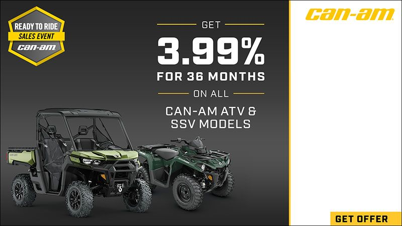 Can-Am Off-Road - Ready To Ride Sales Event