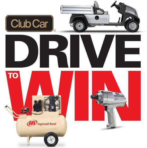 Club Car - Drive to Win Ingersoll Rand Power Tools