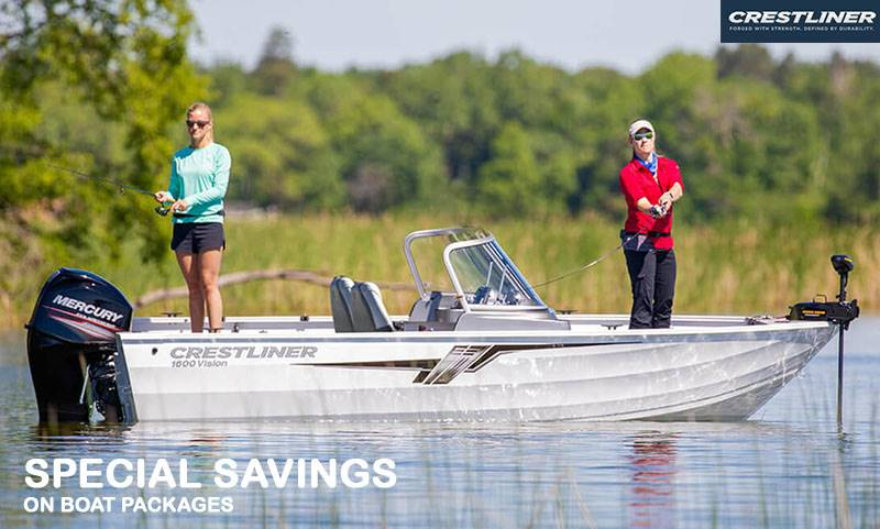 Crestliner - Special Savings on Boat Packages