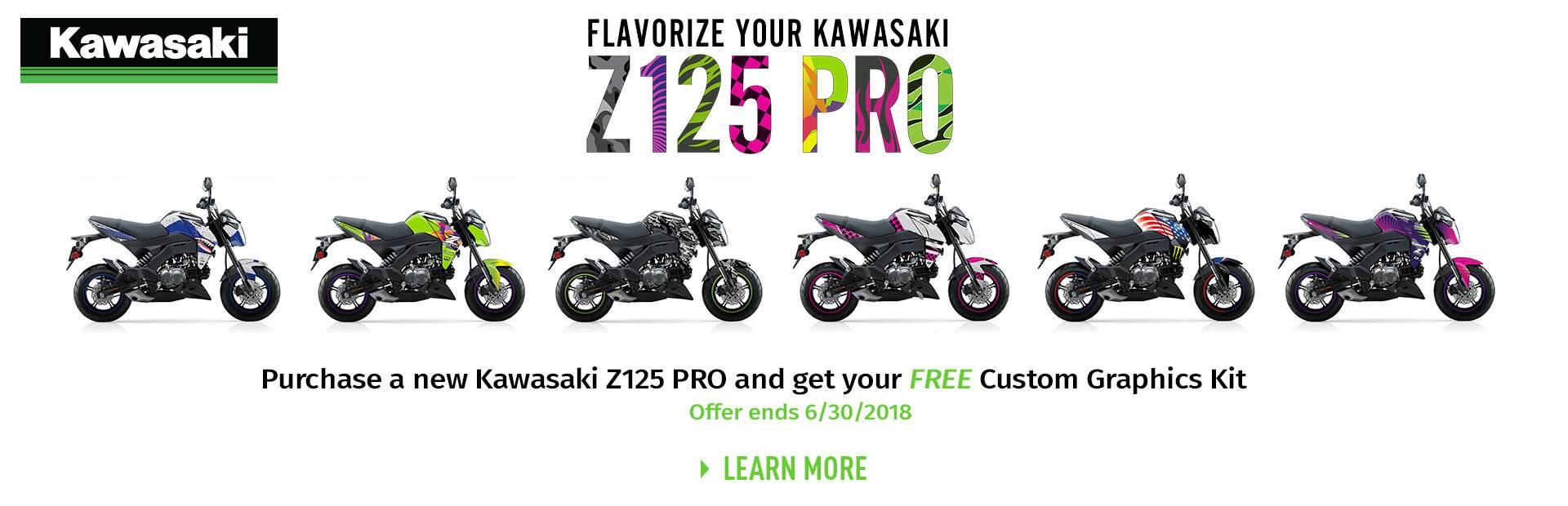Kawasaki - FLAVORIZE YOUR Z125 PRO