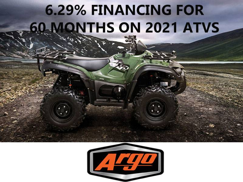 Argo - 6.29% Financing for 60 Months on 2021 ATVs