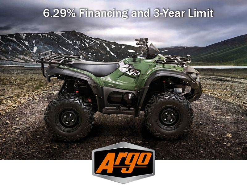 Argo - 6.29% Financing and 3-Year Limit