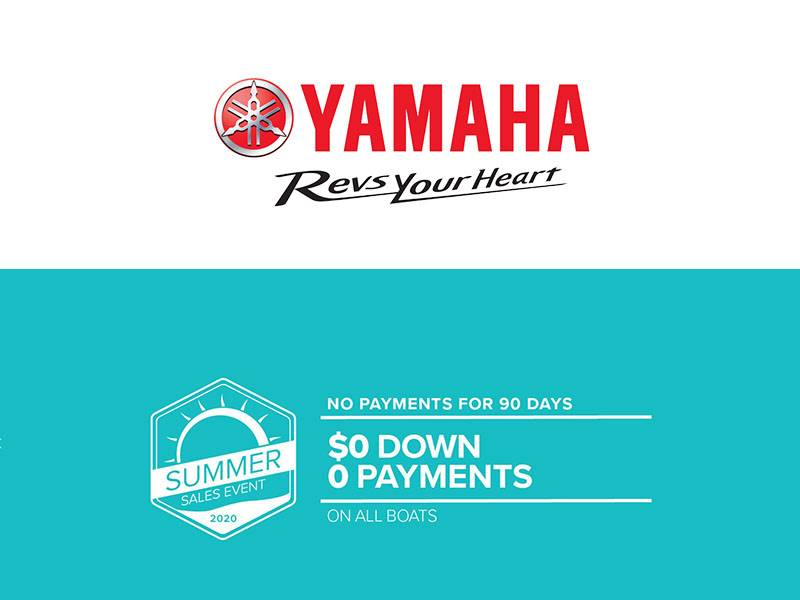 Yamaha Boats - Summer Sales Event