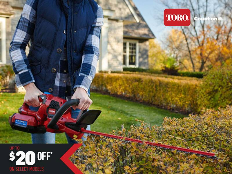 Toro - $20 Off Select 60V Handheld