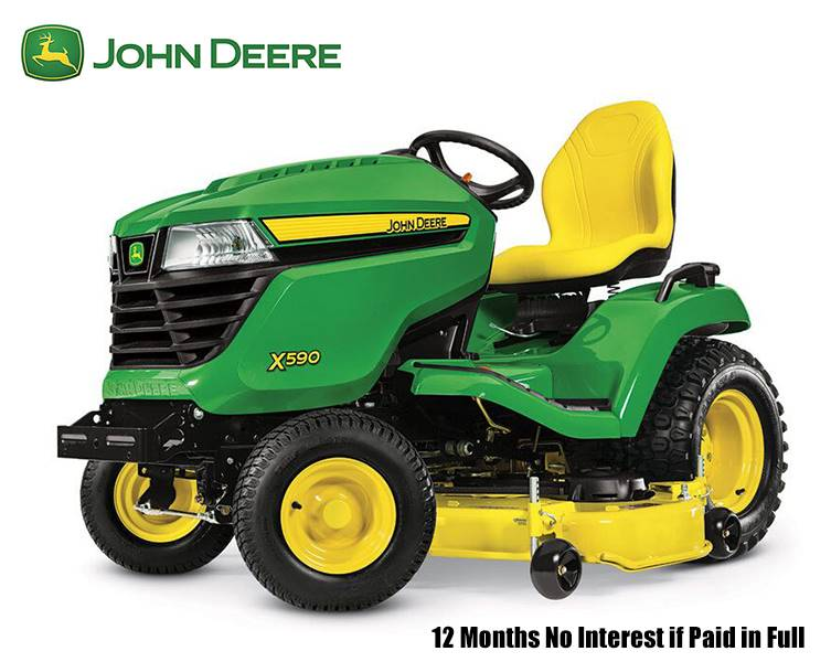 John Deere - 12 Months No Interest if Paid in Full
