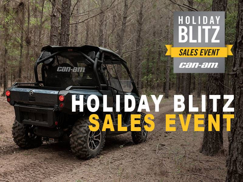 Can-Am - Holiday Blitz Sales Event - DS and Commander Offers