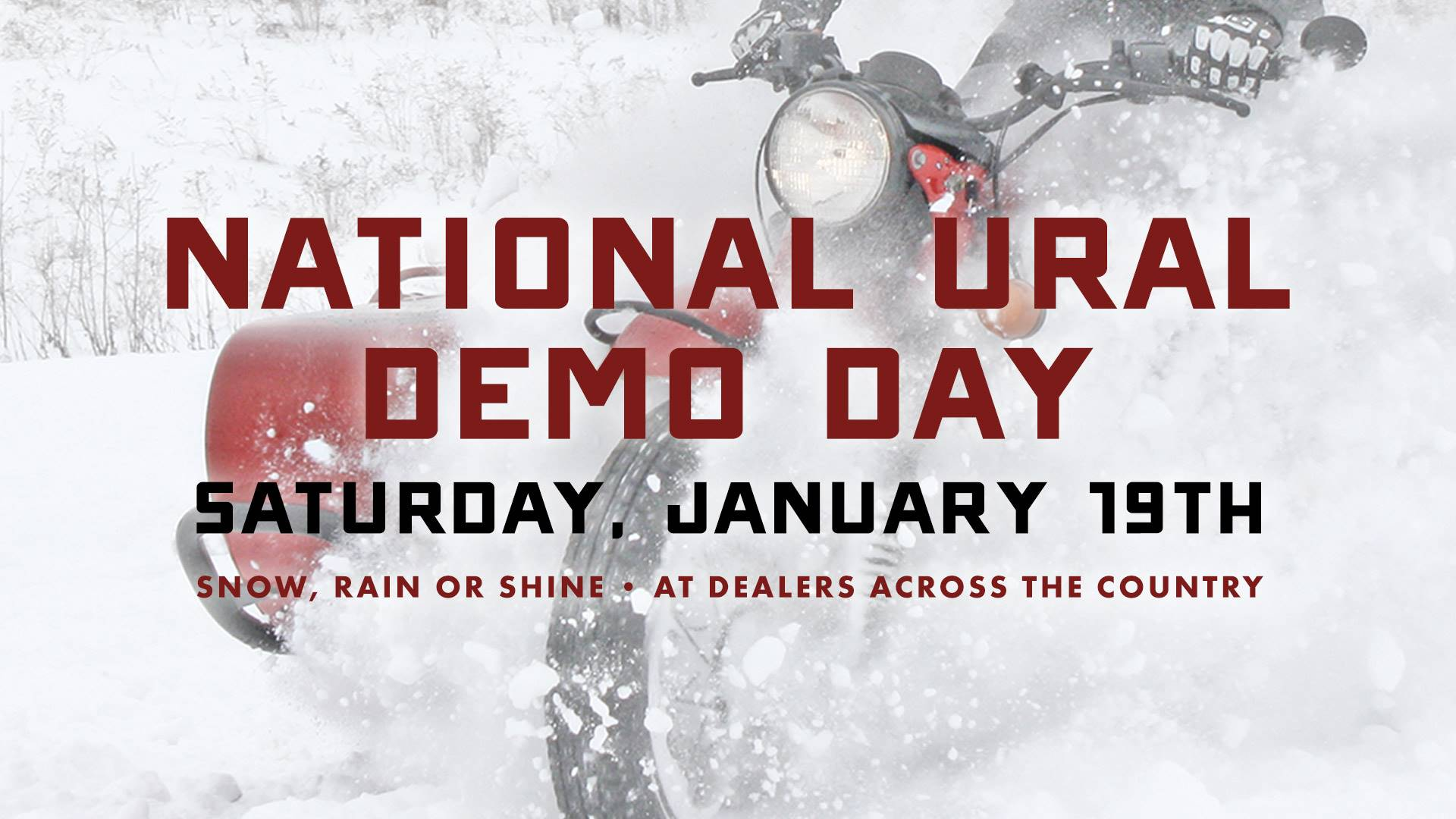Ural Russian Motorcycles Ural - National Demo Day