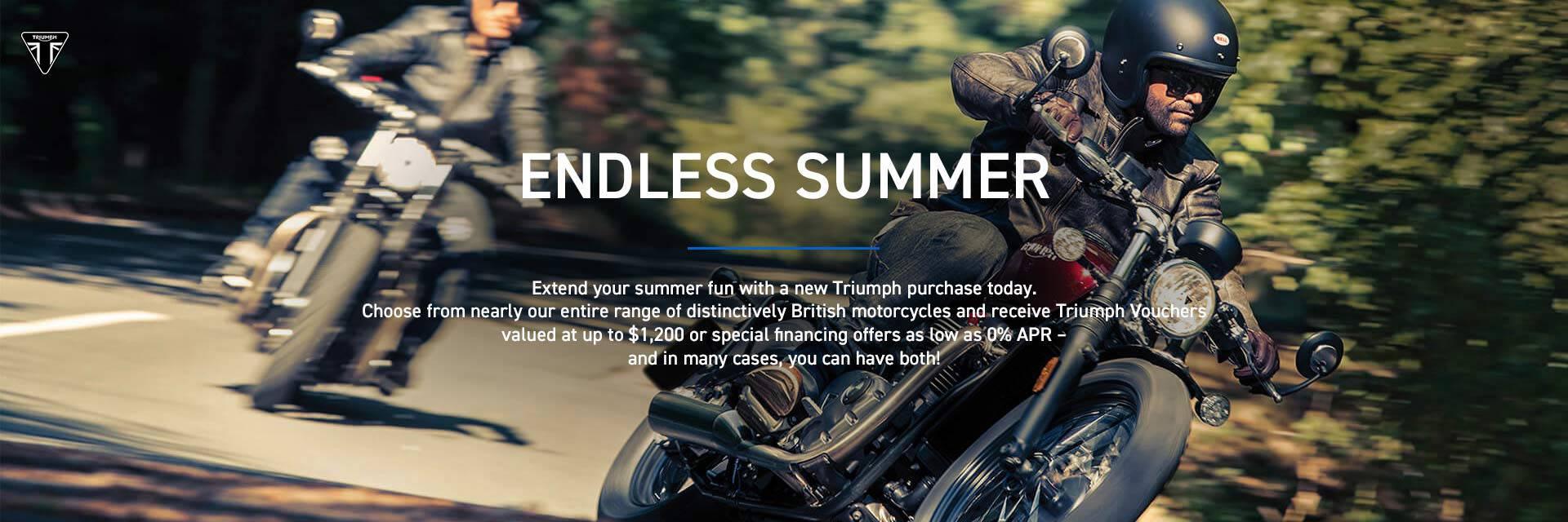Triumph Endless Summer Event