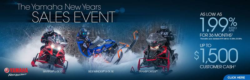 Yamaha Motor Corp., USA Yamaha Snowmobile - Current Offers & Financing