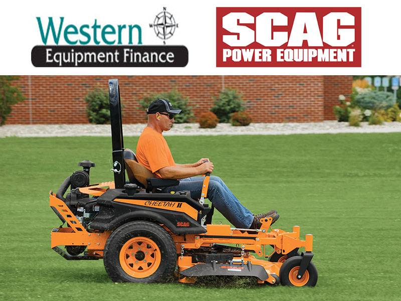 SCAG Power Equipment - Western Equipment Finance Programs