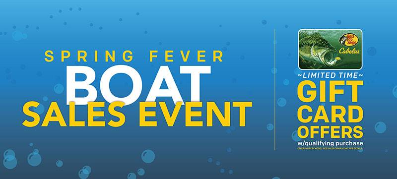 Sun Tracker - Spring Fever Boat Sales Event