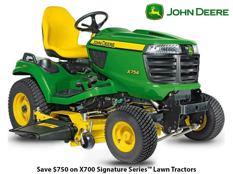 John Deere - Save $750 on New John Deere X700 Signature Series Lawn Tractors