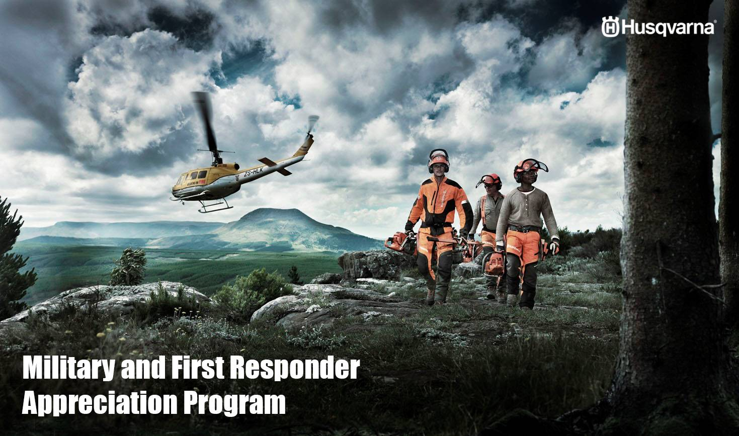 Husqvarna Power Equipment - Military and First Responder Appreciation Program