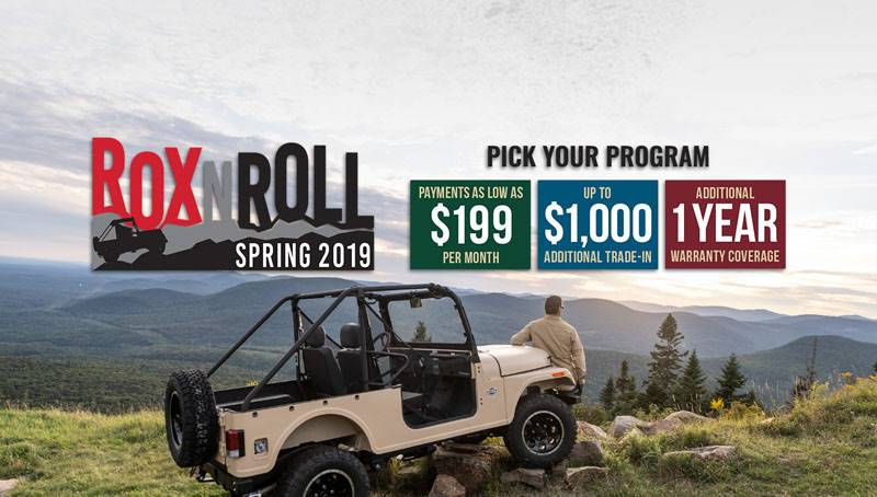 Mahindra Automotive North America (USA) - ROX N ROLL Spring 2019