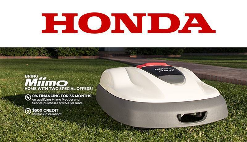 Honda Power Equipment - Miimo $500 Installation Credit