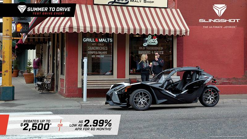 Slingshot - Summer To Drive - Rebates and Financing Offers