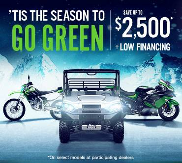 Kawasaki - 'TIS THE SEASON TO GO GREEN