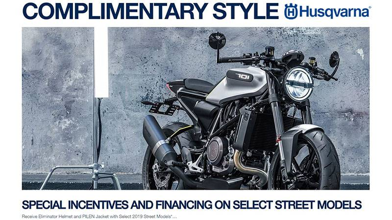 Husqvarna - Limited Time Street Offers