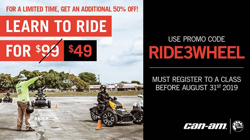 Can-Am - Rider Education Program